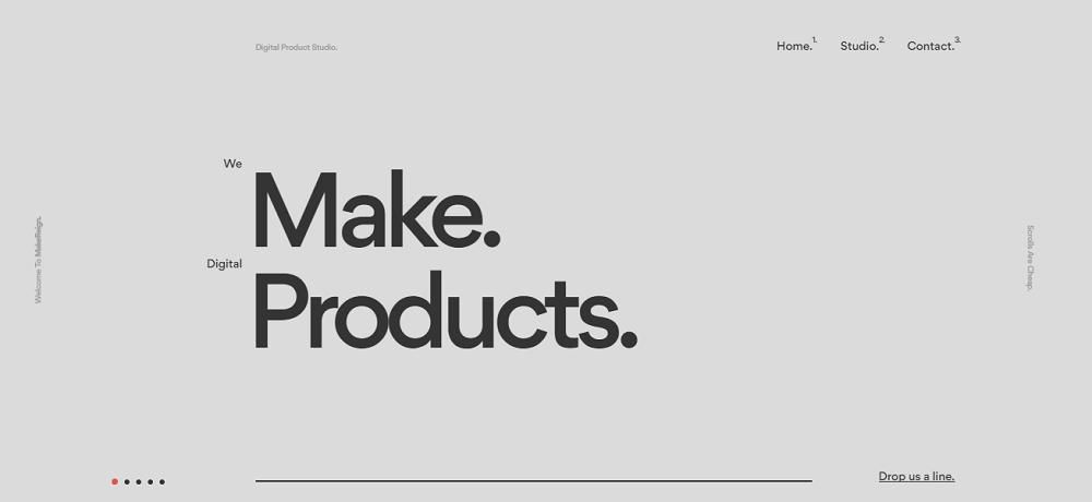 Крупная типографика