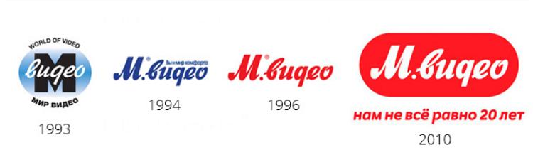 М.Видео логотип