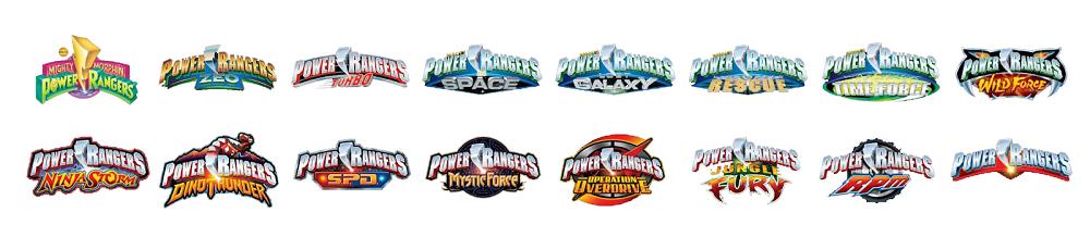 Могучие рейнджеры логотип