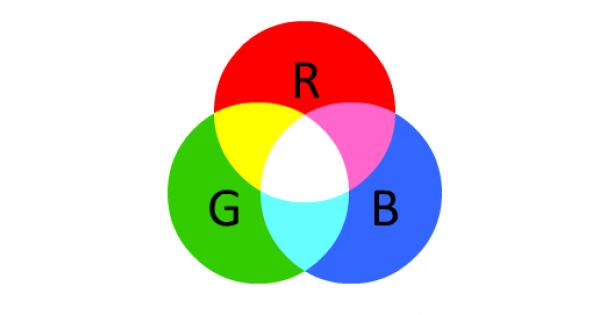 базовые оттенки RGB