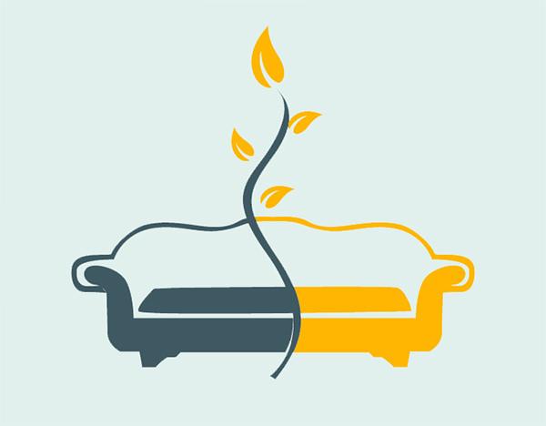 пример логотипа дивана