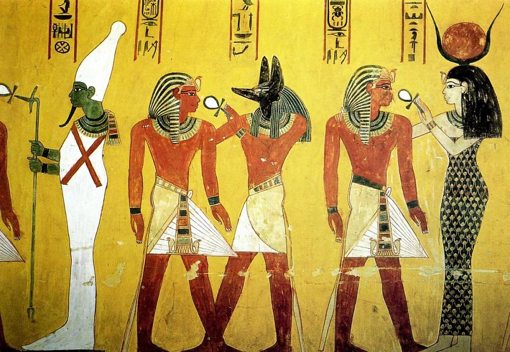 Египетские мотивы на сайте