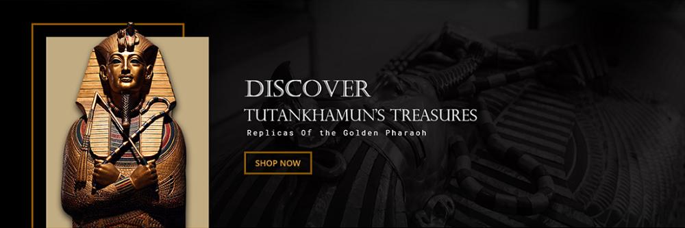 маска Тутанхамона на сайте