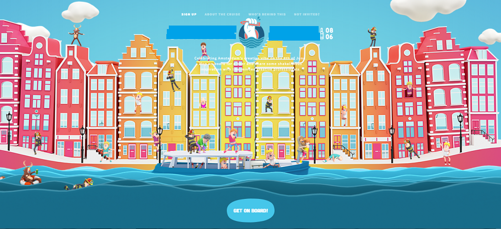 Рисованный стиль сайта