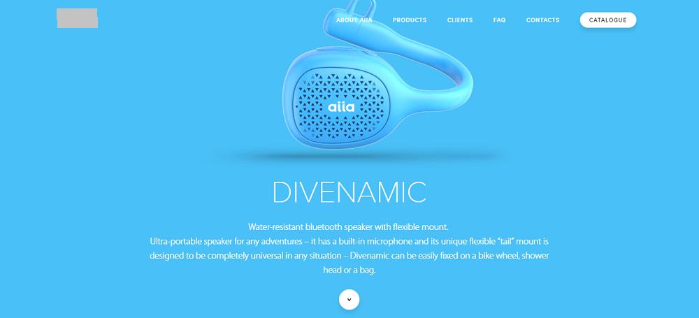 Промо-дизайн стиль сайта