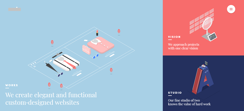 Иллюстрации в дизайне сайта