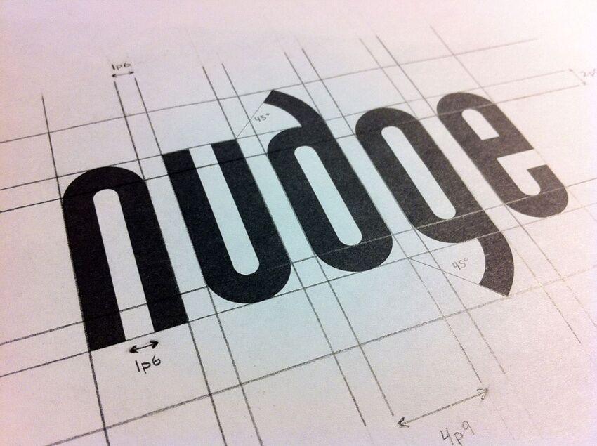 Логотип nudge