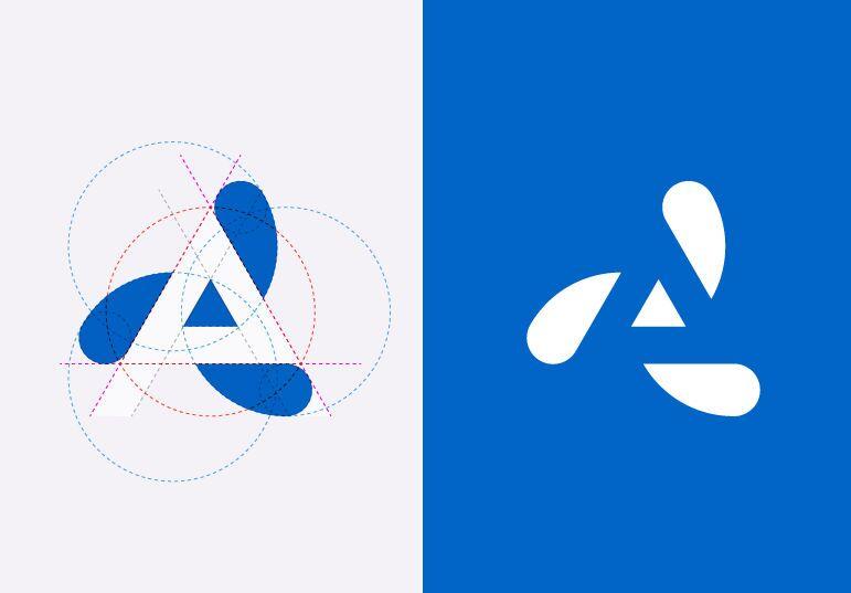 Логотип шведской дизайн-студии Helvetic Brands