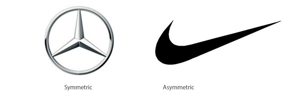 асимметричный логотип