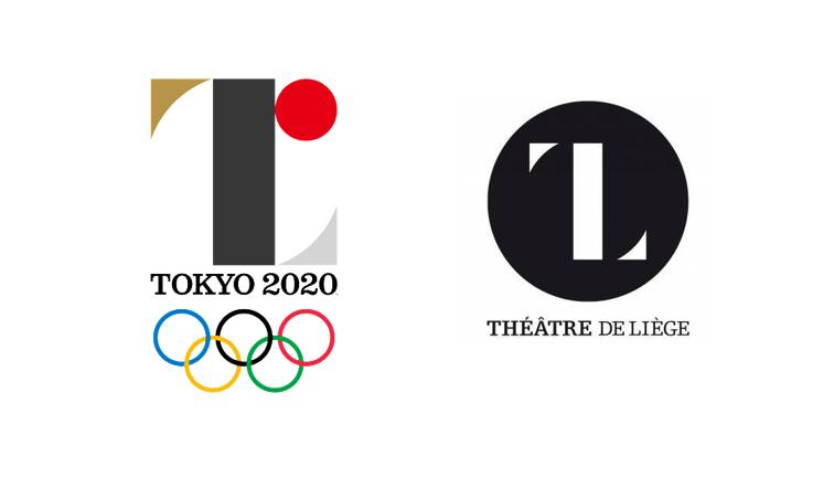 дизайн логотипа будущей Олимпиады в Токио в 2020 году